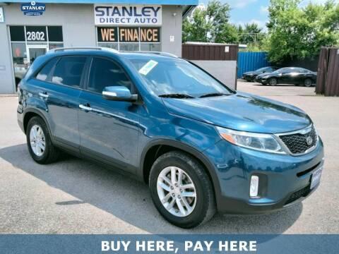 2014 Kia Sorento for sale at Stanley Direct Auto in Mesquite TX