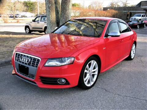 2012 Audi S4 for sale at The Car Vault in Holliston MA