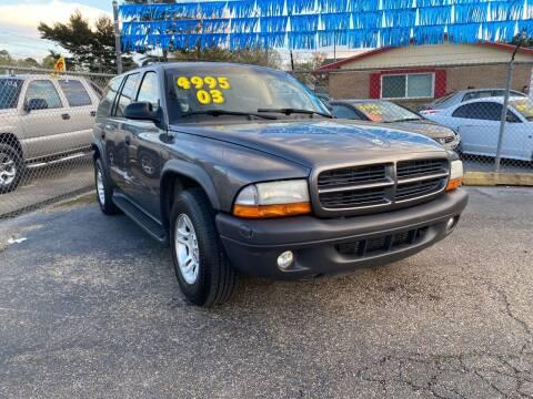 2003 Dodge Durango for sale at Port City Auto Sales in Baton Rouge LA