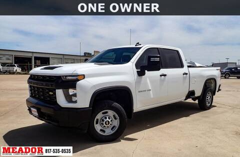 2020 Chevrolet Silverado 2500HD for sale at Meador Dodge Chrysler Jeep RAM in Fort Worth TX