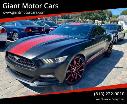 2016 Ford Mustang for sale at Giant Motor Cars in Tampa FL