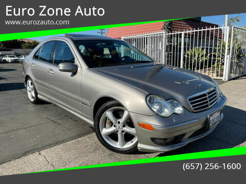 2006 Mercedes-Benz C-Class for sale at Euro Zone Auto in Stanton CA