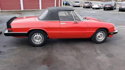 1985 Alfa Romeo Spider for sale at Green Tree Motors in Elizabethton TN