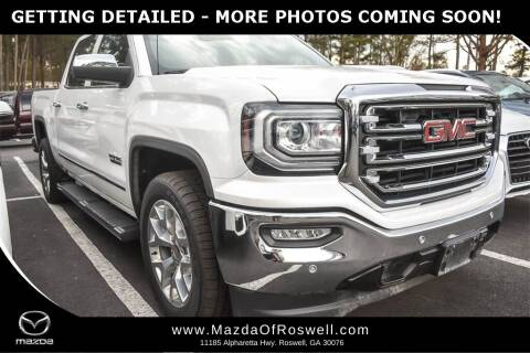 2018 GMC Sierra 1500 for sale at Mazda Of Roswell in Roswell GA