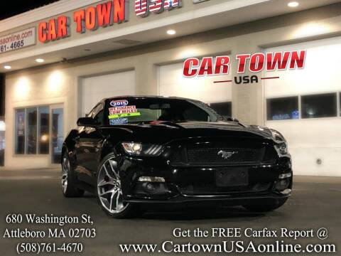 2015 Ford Mustang for sale at Car Town USA in Attleboro MA