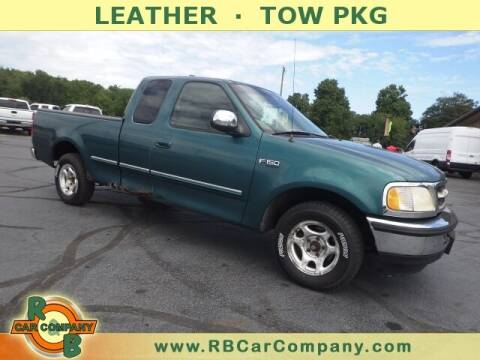 1998 Ford F-150 for sale at R & B CAR CO - R&B CAR COMPANY in Columbia City IN