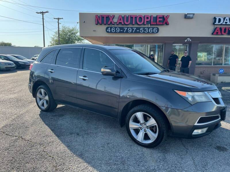 2010 Acura MDX for sale at NTX Autoplex in Garland TX