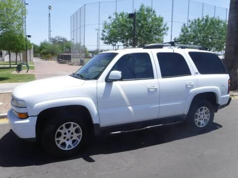 2005 Chevrolet Tahoe for sale at J & E Auto Sales in Phoenix AZ
