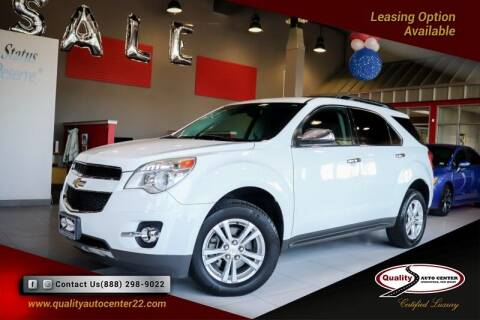 2013 Chevrolet Equinox for sale at Quality Auto Center of Springfield in Springfield NJ