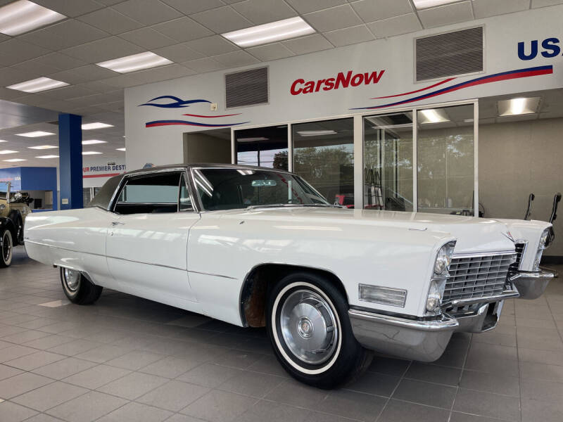 1967 Cadillac DeVille for sale at A 1 Motors in Monroe MI