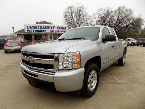 2011 Chevrolet Silverado 1500 for sale at Lewisville Car in Lewisville TX