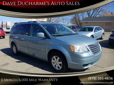 2008 Chrysler Town and Country for sale at Dave Ducharme's Auto Sales in Lowell MA