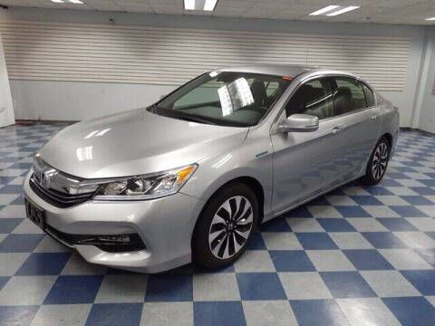 2017 Honda Accord Hybrid for sale at Mirak Hyundai in Arlington MA