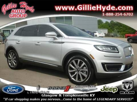 2019 Lincoln Nautilus for sale at Gillie Hyde Auto Group in Glasgow KY