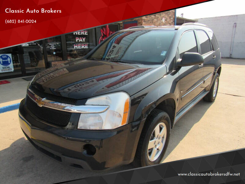 2008 Chevrolet Equinox for sale at Classic Auto Brokers in Haltom City TX