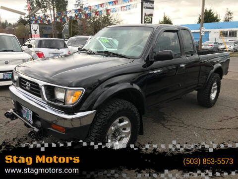 1997 Toyota Tacoma for sale at Stag Motors in Portland OR