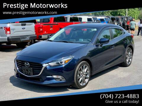 2018 Mazda MAZDA3 for sale at Prestige Motorworks in Concord NC