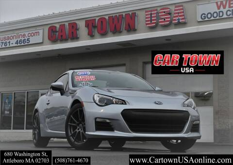 2015 Subaru BRZ for sale at Car Town USA in Attleboro MA
