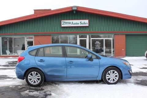 2016 Subaru Impreza for sale at Gentry Auto Sales in Portage MI