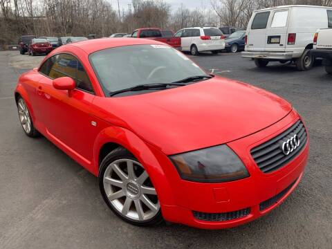 2002 Audi TT for sale at Trocci's Auto Sales in West Pittsburg PA