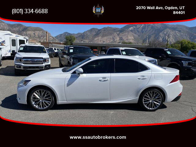 2017 Lexus IS 200t for sale at S S Auto Brokers in Ogden UT