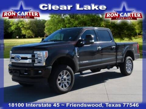 2019 Ford F-250 Super Duty for sale at Ron Carter  Clear Lake Used Cars in Houston TX