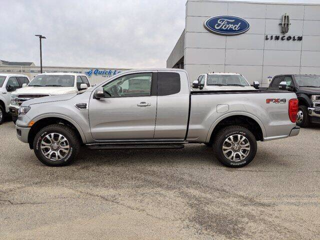 2020 Ford Ranger 4x4 Lariat 4dr SuperCab 6.1 ft. SB Pickup - Gulfport MS