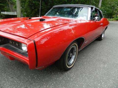 1968 Pontiac GTO for sale at Classic Car Deals in Cadillac MI