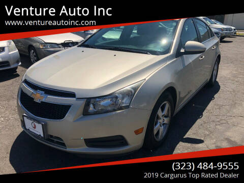 2013 Chevrolet Cruze for sale at Venture Auto Inc in South Gate CA