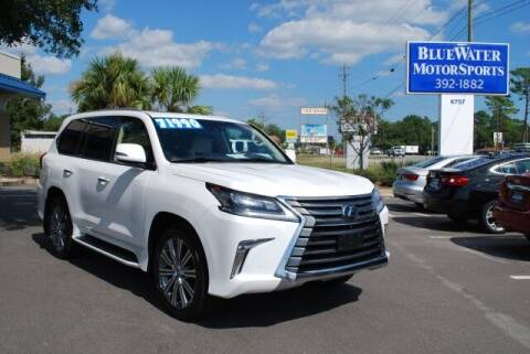 2017 Lexus LX 570 for sale at BlueWater MotorSports in Wilmington NC