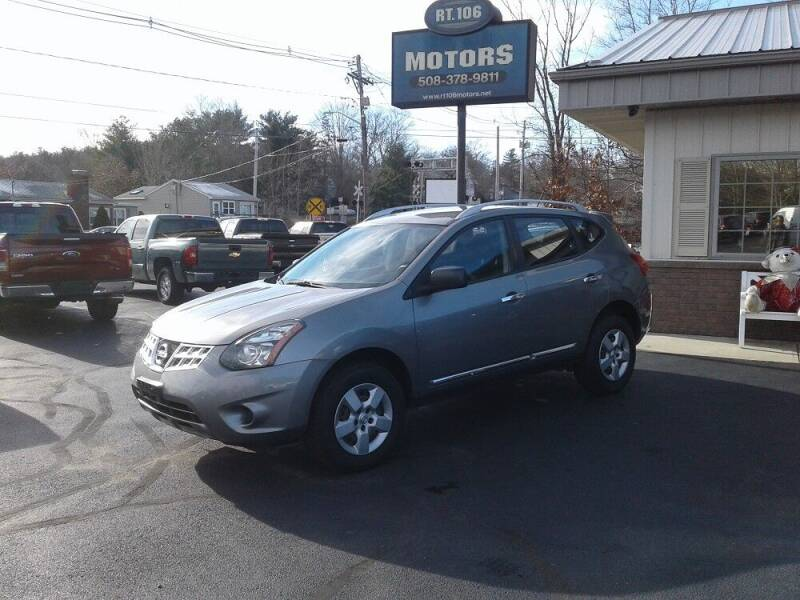 2015 Nissan Rogue Select for sale at Route 106 Motors in East Bridgewater MA