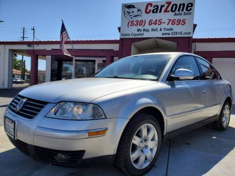 2005 Volkswagen Passat for sale at CarZone in Marysville CA