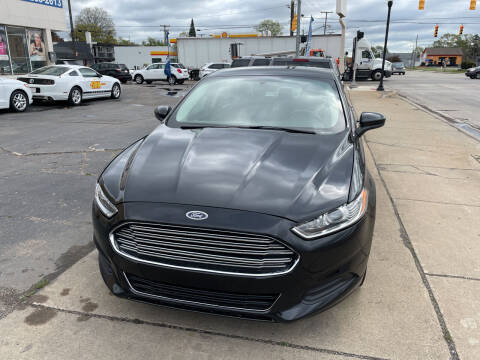 2015 Ford Fusion for sale at National Auto Sales Inc. - Hazel Park Lot in Hazel Park MI