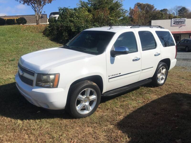 2009 Chevrolet Tahoe for sale at Clayton Auto Sales in Winston-Salem NC
