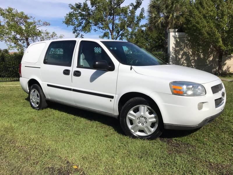 2008 Chevrolet Uplander for sale at Kaler Auto Sales in Wilton Manors FL