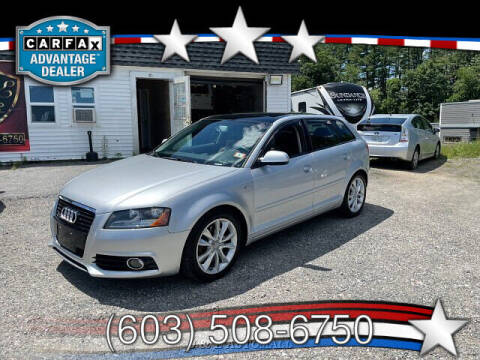 2012 Audi A3 for sale at J & E AUTOMALL in Pelham NH