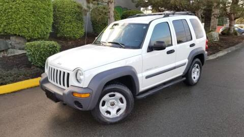 2003 Jeep Liberty for sale at SS MOTORS LLC in Edmonds WA