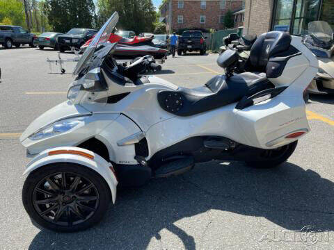 2016 Can-Am SPYDER RT LIMITED SE6 AUTO for sale at ROUTE 3A MOTORS INC in North Chelmsford MA