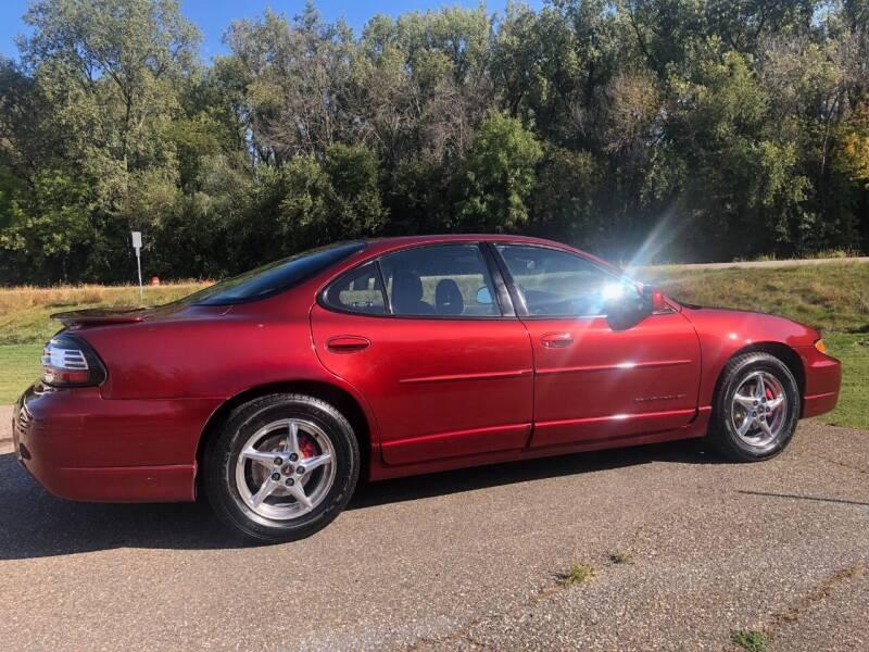 2002 Pontiac Grand Prix for sale at Triple R Sales in Lake City MN