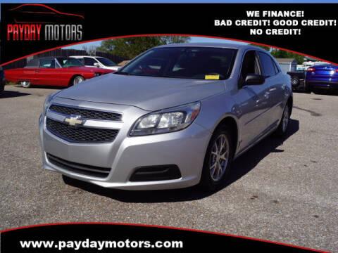 2013 Chevrolet Malibu for sale at Payday Motors in Wichita KS