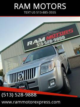 2009 Mercury Mariner for sale at RAM MOTORS in Cincinnati OH
