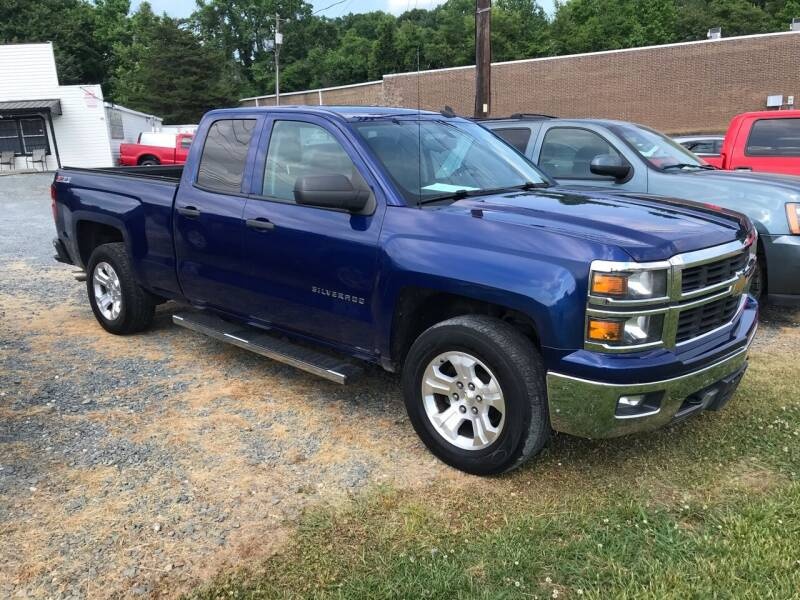 2014 Chevrolet Silverado 1500 for sale at Clayton Auto Sales in Winston-Salem NC