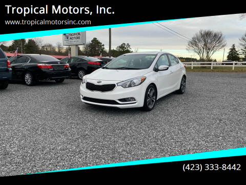 2015 Kia Forte for sale at Tropical Motors, Inc. in Riceville TN
