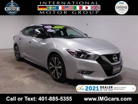 2018 Nissan Maxima for sale at International Motor Group in Warwick RI