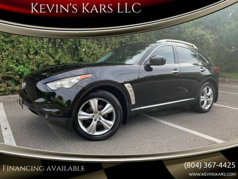2009 Infiniti FX35 for sale at Kevin's Kars LLC in Richmond VA