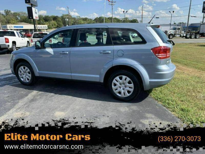 2013 Dodge Journey for sale at Elite Motor Cars in Burlington NC