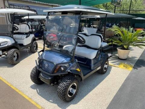 2021 Yamaha 4 Passenger Electric Lift for sale at METRO GOLF CARS INC in Fort Worth TX