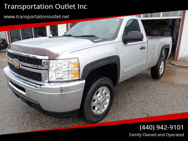 2012 Chevrolet Silverado 2500HD for sale at Transportation Outlet Inc in Eastlake OH