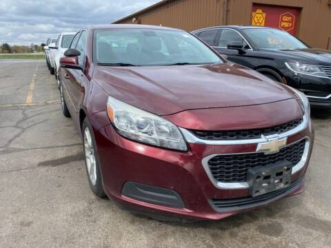 2014 Chevrolet Malibu for sale at Best Auto & tires inc in Milwaukee WI