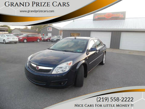 2008 Saturn Aura for sale at Grand Prize Cars in Cedar Lake IN